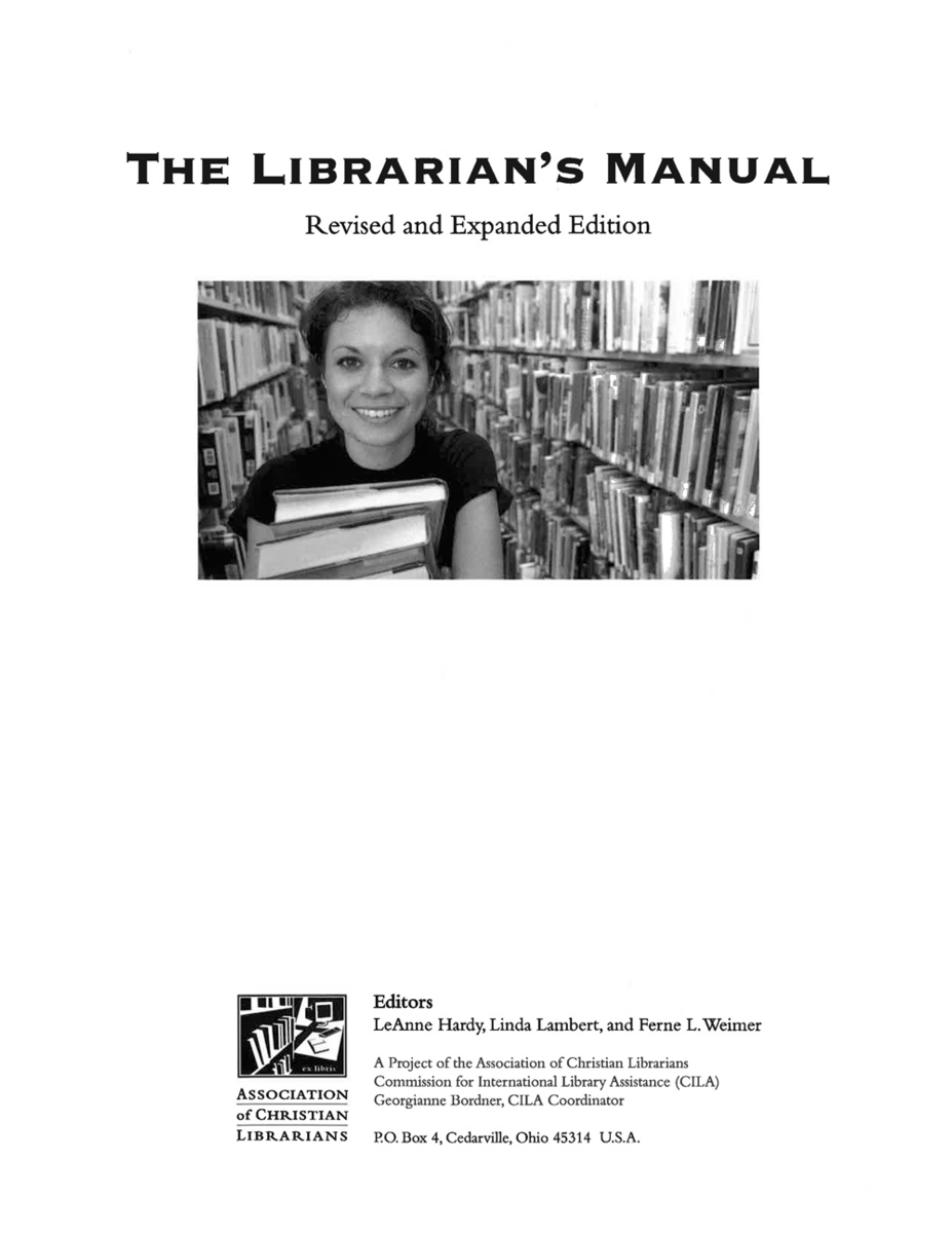 librarians manual cover